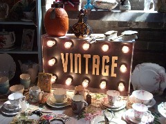 Vintage fair and book exchange for children from Svratiste