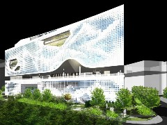 The Chinese Cultural Center is being built in Belgrade