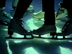 New season of ice-skating in Pionir